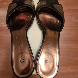 Etienne Aigner Slip on wedges 7M